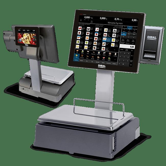 Balances digitals amb pantalla tàctil