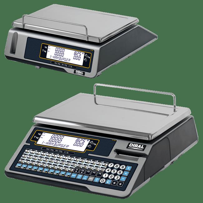 Balanzas con impresora para mostrador