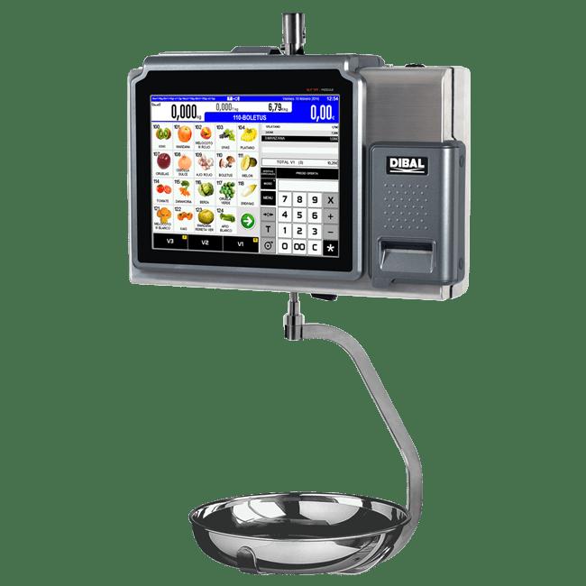 Balanzas colgantes con pantalla táctil Dibal D-900