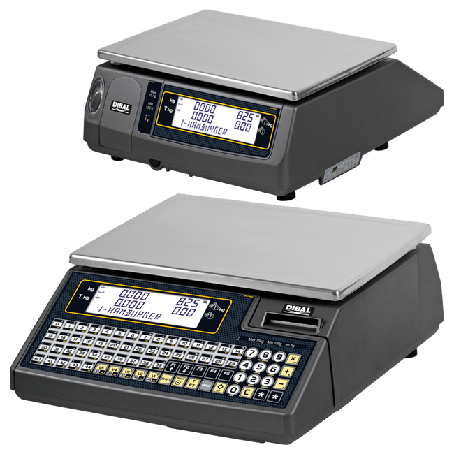 Balanzas electrónicas para mostrador - Serie Wind