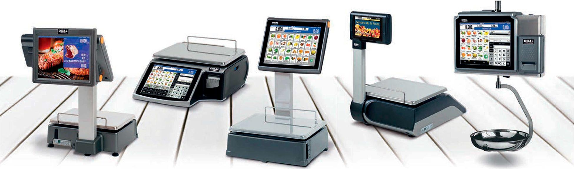 Balances amb pantalla tàctil Dibal D900