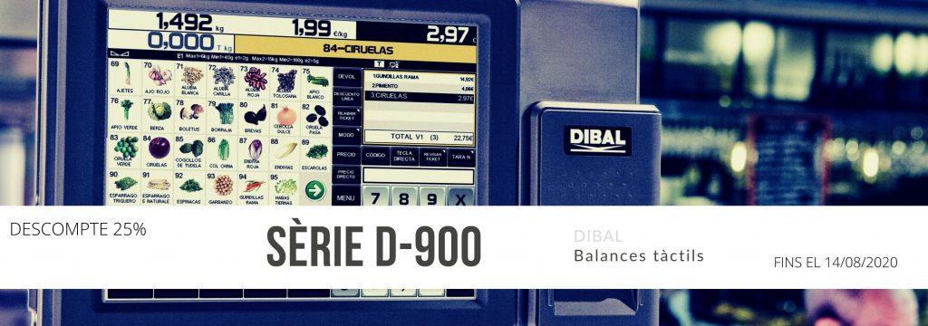 Oferta en balances Dibal D-900
